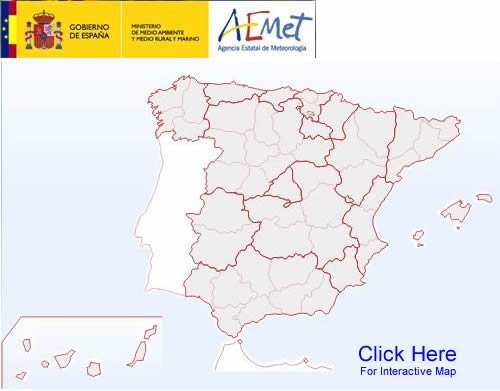 Spain's Amet.es Weather Map